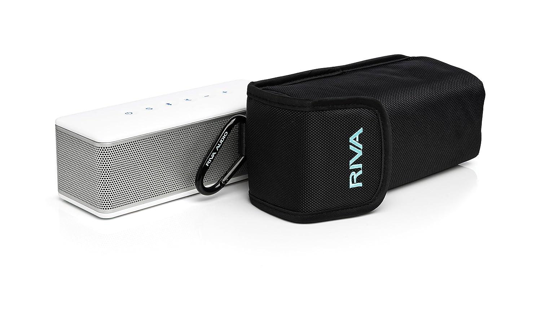 RIVA RS01S - Altavoces portátiles (Estéreo, Inalámbrico, Batería, Bluetooth, Universal, Rectángulo), Color Blanco: Amazon.es: Electrónica