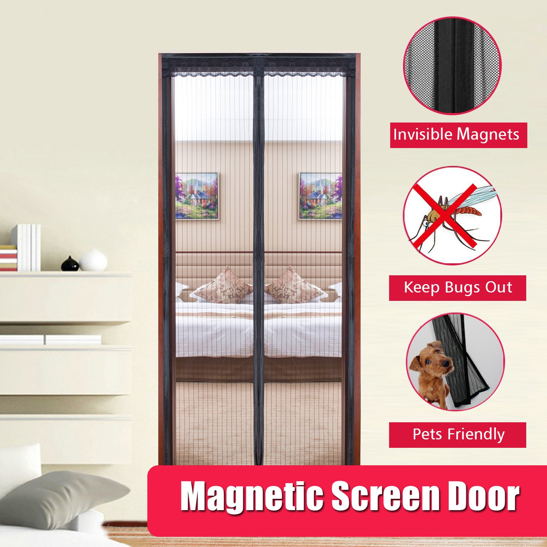 Magnetic screen door eazymesh premium quality magnetic for Retractable screen door magnets