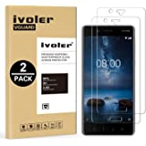 iVoler [2 Pack] Pellicola Vetro Temperato per Nokia 8 [Garanzia a Vita], Pellicola Protettiva, Protezione per Schermo