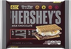 HERSHEY'S Milk Chocolate Bars, 9.3 Ounce
