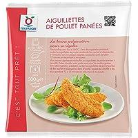 Aiguillettes de poulet surgelées panées - 500 g