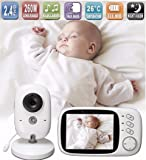 Lullaby Bay - Wireless Video Baby Monitor with Digital Camera. Anti-Hack Encryption. 3. 2 inch LCD Screen. Night Vision. Temperature Sensor. 2-Way Talk. Long Range. 8 Lullabies. Wall-mountable camera