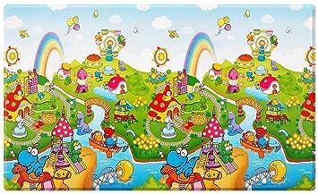 Bebé Dwinguler Dinoland Large Kids Playmat by