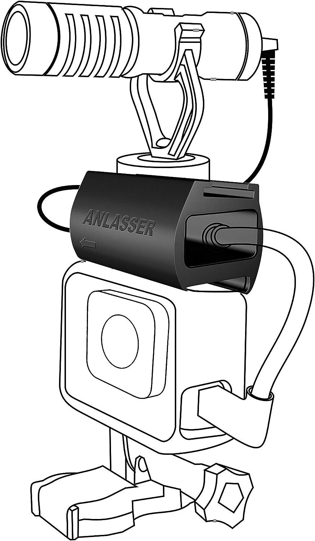 Soporte para adaptador de microfono original de Gopro 5 6 7