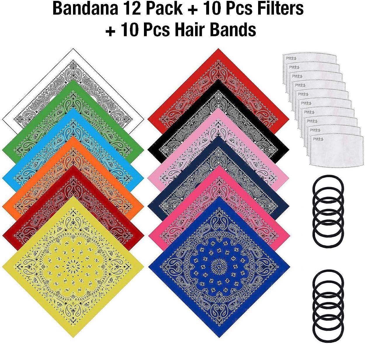 Sports DiaryLook Bandanas Face Scarf for Men /& Women Bandana Headband Handkerchiefs Scarf for Dust Outdoor