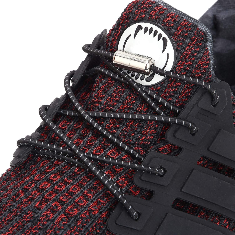 Amazon.com: No Tie Reflective Shoelaces