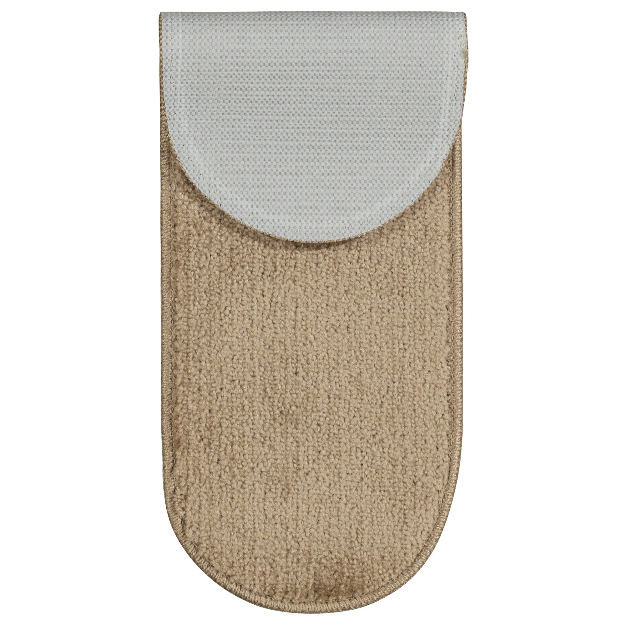 Ottomanson Softy Collection Stair Tread, 9'' X 26'' Oval, Beige, 14 Pack by Ottomanson (Image #3)