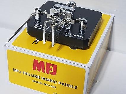 MFJ-564 Black Iambic CW Paddle: Amazon ca: Electronics