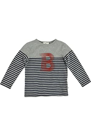 2fe794cb8ac37 Bellybutton Kids Boy s T-Shirt 1 1 Arm Striped Long Sleeve Top