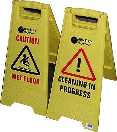 safetysignsupplies cartelli segnalazione di sicurezza attenzione pavimento bagnato attenzione pulizie in corso