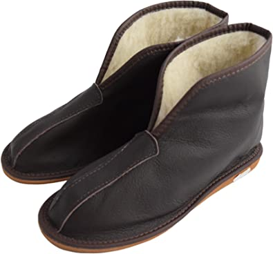 WOMEN MEN UNISEX NATURAL SUEDE LEATHER /& SHEEP/'S WOOL LINING SLIPPERS ALL SIZES