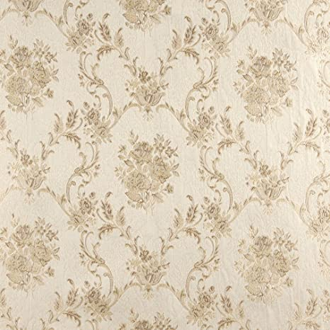 Amazon Com Beige And White Antique French Vintage Large Floral