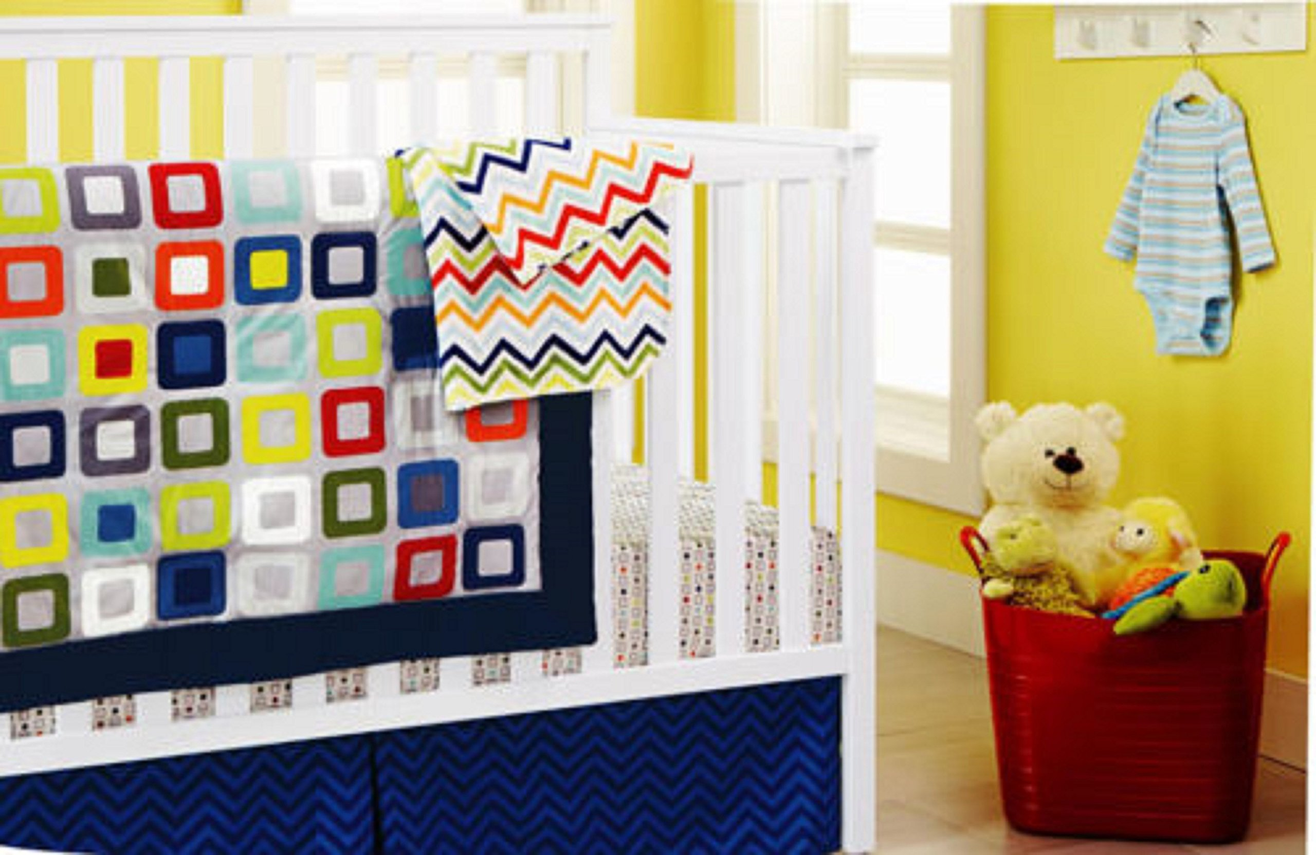 New 10 pcs Baby Boy Crib Bedding Set