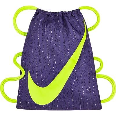 NEW Nike youth gymsack bag Iris/Volt