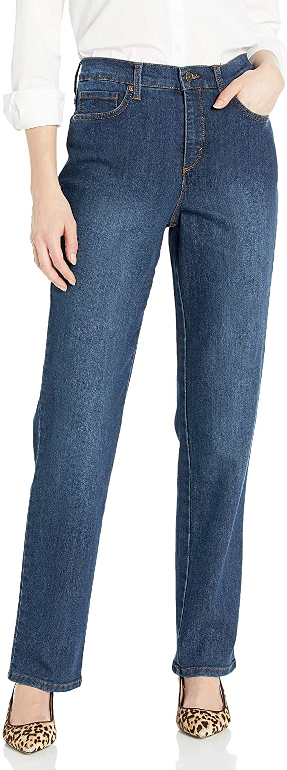 Gloria Vanderbilt Women's Classic Amanda High Waisted Jeans Tapered Jean | Trendy Denim Bottoms for women