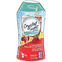 Crystal Light Liquid with Caffeine, Strawberry Pineapple Refresh, 1.62 Ounce
