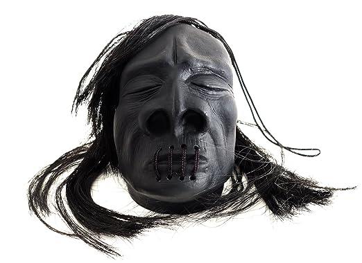 Deluxe Adult Costumes - Mini black shrunken head pirate accessory