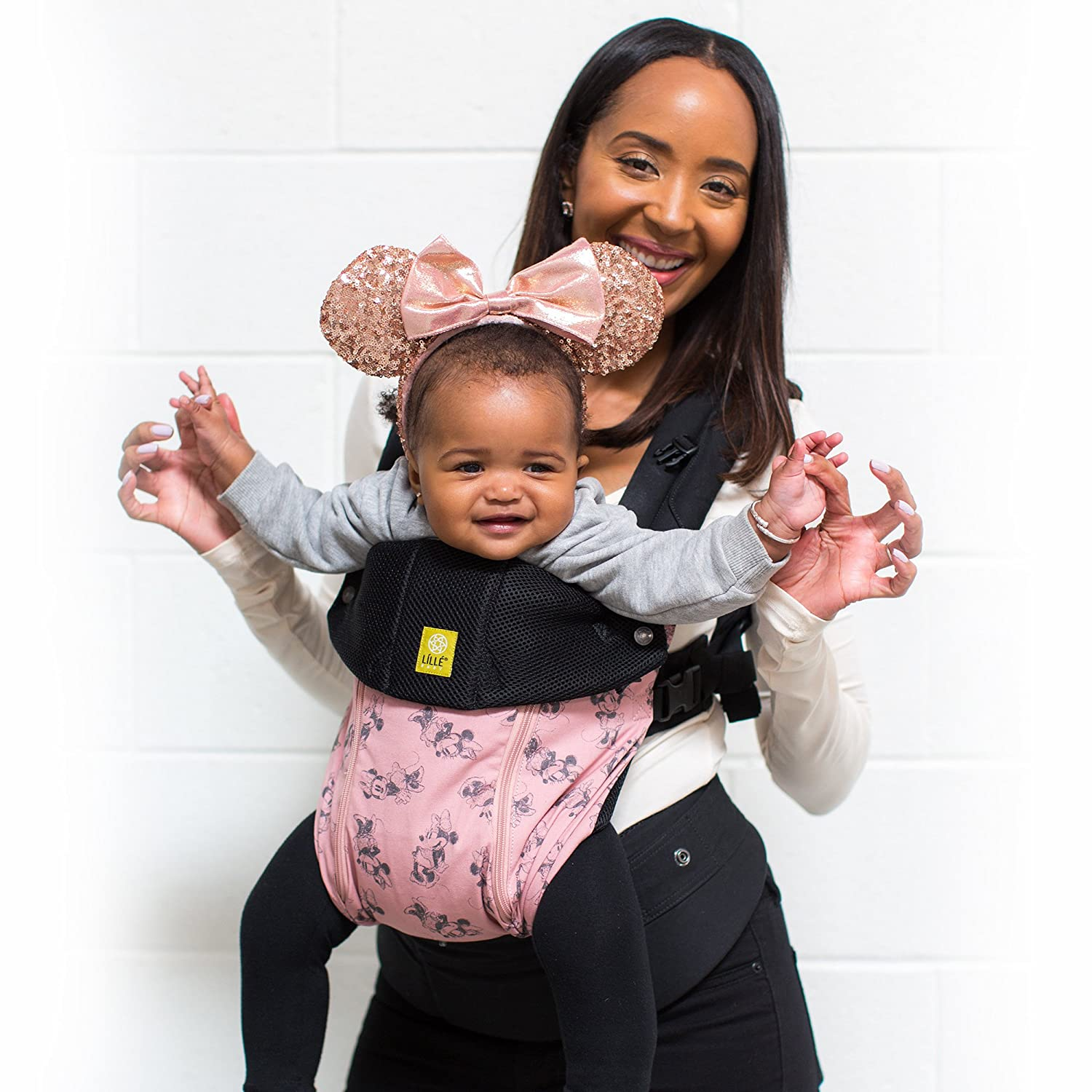 LÍLLÉbaby The COMPLETE All Seasons SIX-Position, 360° Ergonomic Baby & Child Carrier, Navy - Cotton Baby Carrier, Comfortable and Ergonomic, Multi-Position Carrying for Infants Babies Toddlers LILLEbaby SC-3S-210