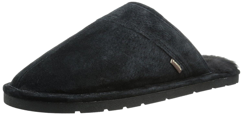 ab321e30bcf Lamo Men's Scuff Slipper - Suede Shoe, Black
