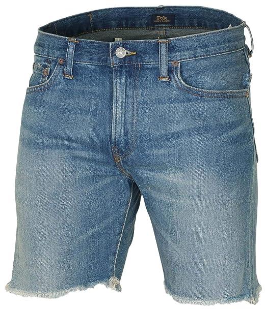 Shorts ShortFray BottomDestruct Jean Polo Ralph Denim Men's Slim Lauren Sullivan 1clTKJF