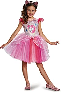 Pinkie Pie Tutu Deluxe My Little Pony Costume, Small/4-6X