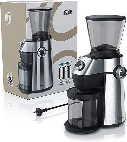 arendo - Molinillo de café Acero Inoxidable Cepillado - Sistema ...