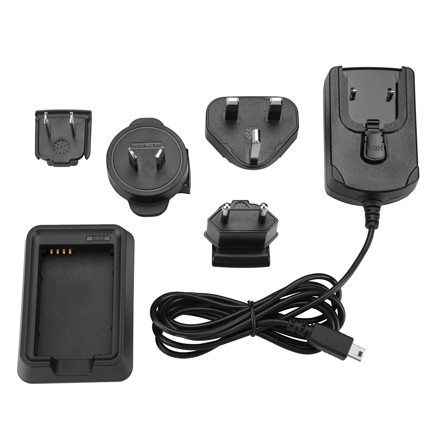 Cargador Garmin 010-11921-06 Negro, Outdoor Battery Charger, I/ón de Litio