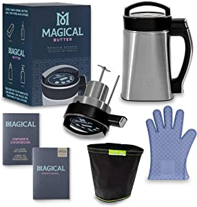 Magical Butter Machine MB2E Botanical Extractor with Magical Butter official 7 page Cookbook