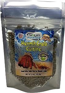 Invert Aquatics Hermit Crab Cuisine - Omnivore Blend Hermit Crab Dry Food