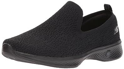 Skechers Performance Women's Go Walk 4-Gifted SneakerBlack<wbr/>8.5 W US