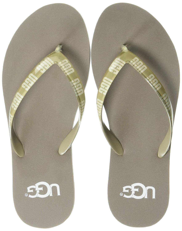 5511560cd1e UGG Womens Simi Graphic Flip-Flop: Amazon.ca: Shoes & Handbags