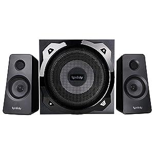 Infinity (JBL) Hardrock 210 Deep Bass 2.1 Channel Multimedia Speaker (100 Watts Peak Output)