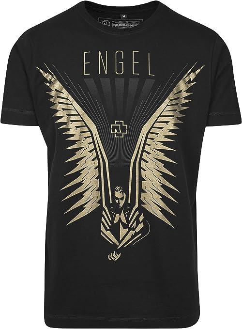 Rammstein Flügel Tee - T-Shirt - Homme: Amazon.
