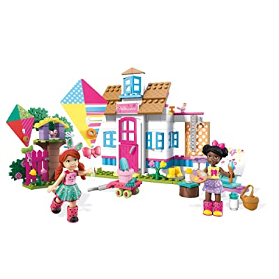 Mega Construx Welliewishers Playful Playhouse Buildable Playset: Toys & Games