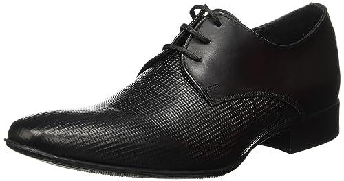 3713495e Brantano Neal Calzado de Vestir Napa Softy para Hombre, color Negro, 25.5,  Mod