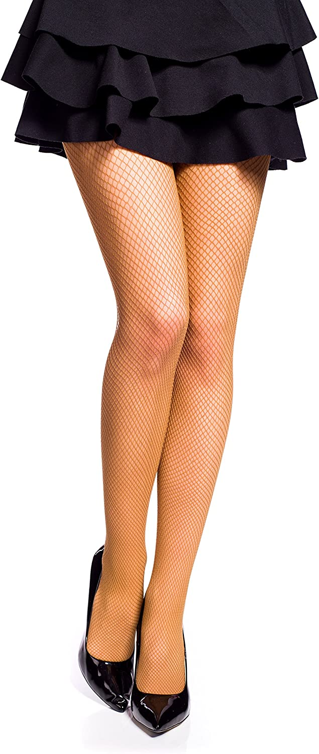 Ladies Fishnet Tights by Romartex 12 Colours Sizes S-XL