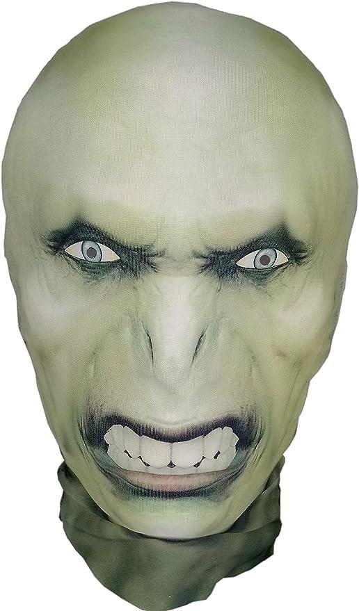 Máscara de Voldemort, máscara de Halloween, para la cabeza ...
