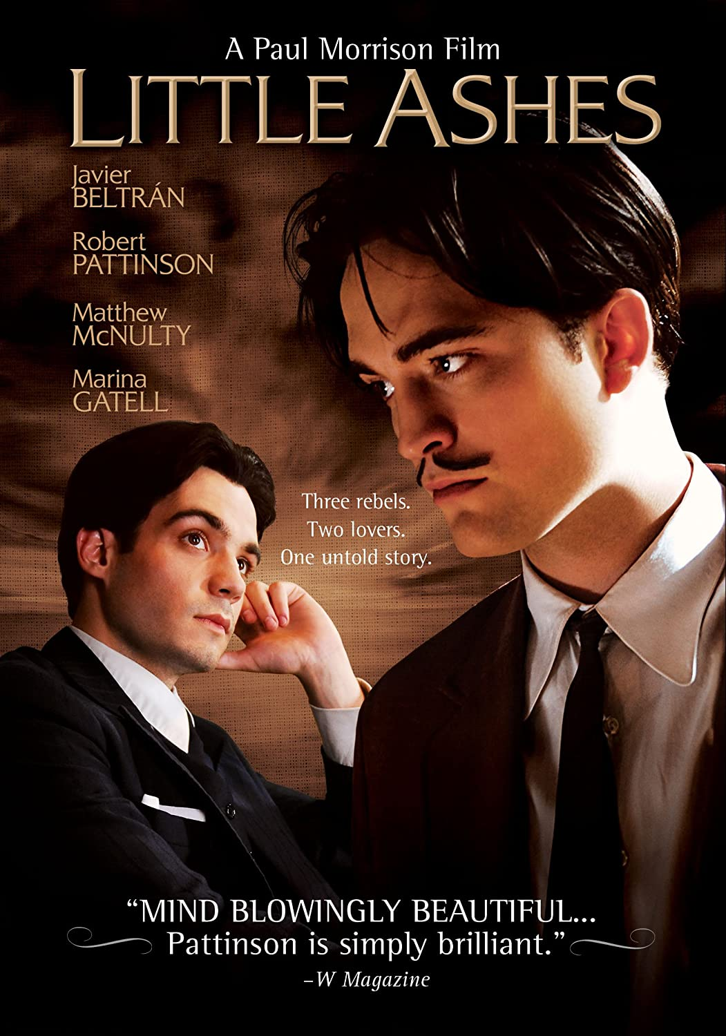 Little Ashes Robert Pattinson Javier Beltrán Matthew McNulty Marina Gatell