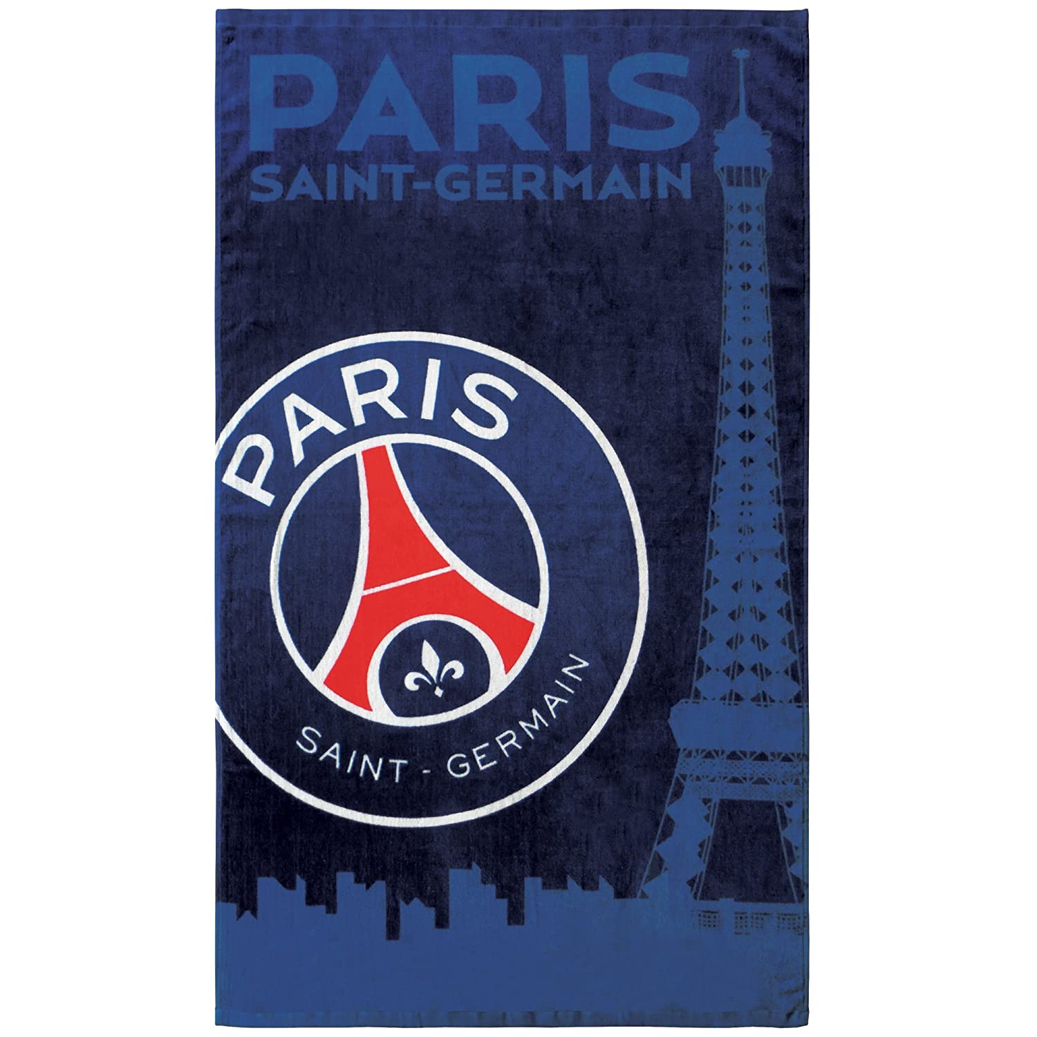 CTI PSG Skyline Blue Cotton Bath Towel 70 x 120 cm 044212