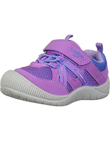 best website d1eb7 ece8e OshKosh B Gosh Kids Ada Girl s Mesh Athletic Bumptoe Sneaker