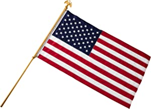 American American 100% Made in The USA US Flag Seasonal Designs Deluxe Telescopic Flag Pole