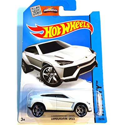 Hot Wheels, HW City, Lamborghini Urus [White] Die-Cast Vehicle #23/250: Toys & Games