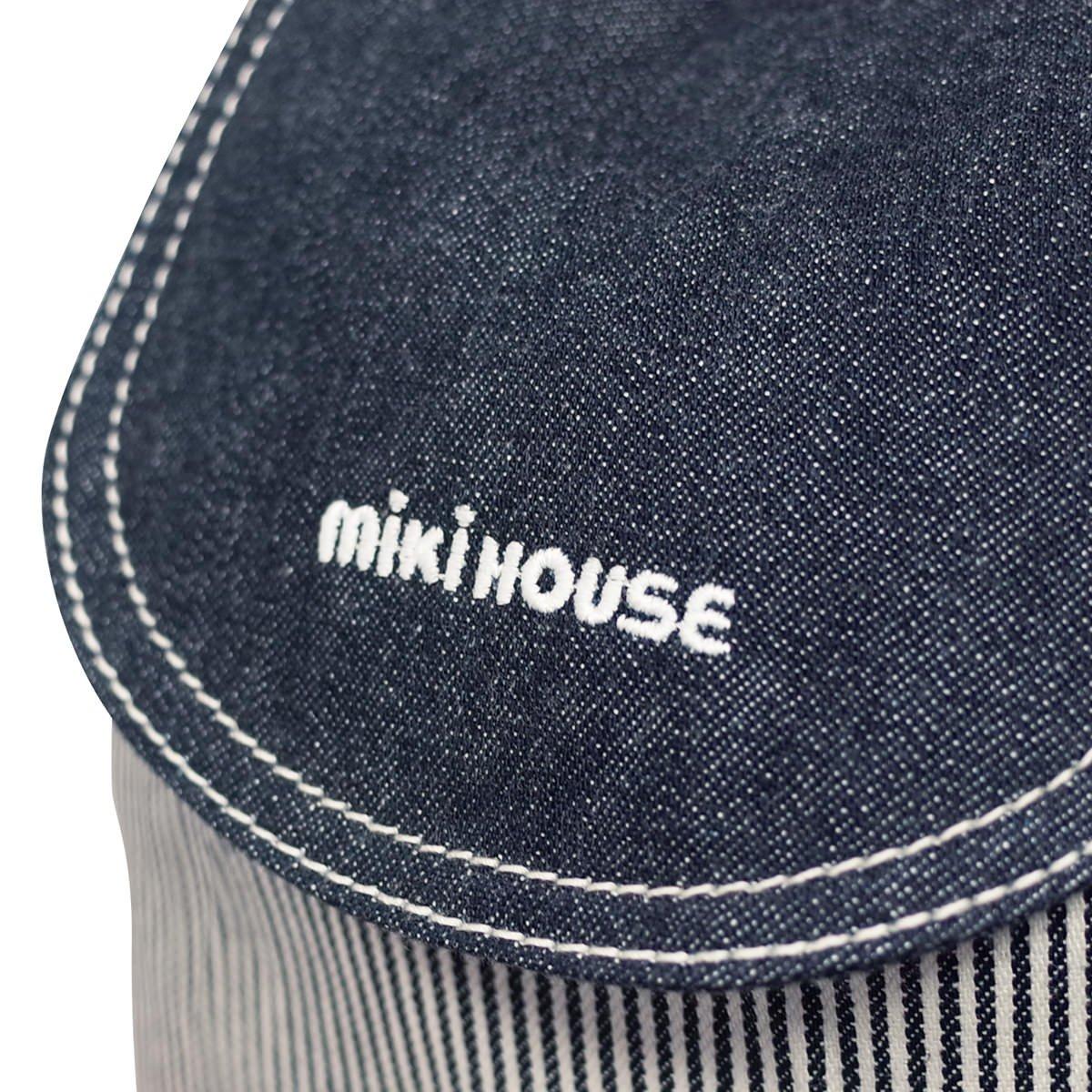 446445b55633 Amazon | ミキハウス (MIKIHOUSE) リュック 10-8270-611 - 紺×白 | ベビー&マタニティ | ベビー&マタニティ 通販