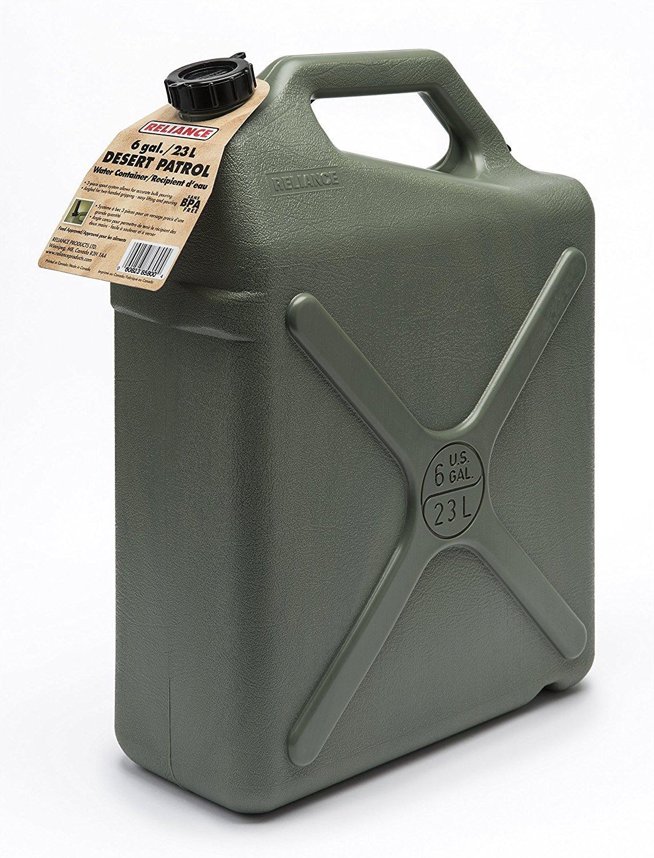 Reliance Products Desert Patrol 6 Gallon Rigid Water Container (2 Containers) by Reliance Products