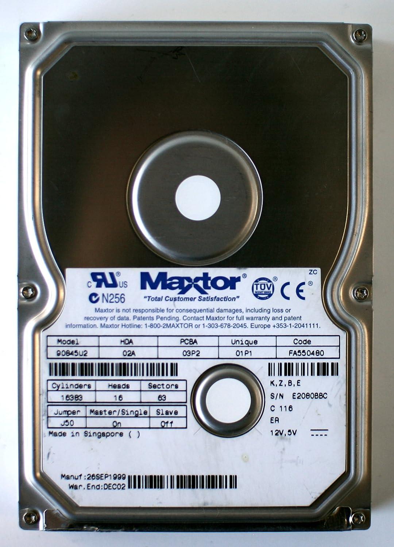 MAXT 8.4GB 90845U2 02A 03P2 01P1 FA550480 K,Z,B,E DE02A