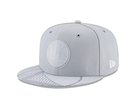 f184b0c3236 New Era Golden State Warriors 2018 NBA All Star Game Rubber Logo Fitted  Gray Hat (