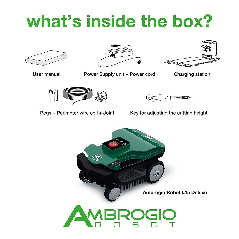 Ambrogio Robot zucchetti - Ambrogio L15 Deluxe, 600 M2 ...