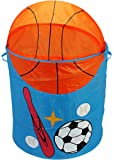 PIGLOO® 72-Litre Kids Pop Up Laundry Bag Hamper, Toy Storage Basket