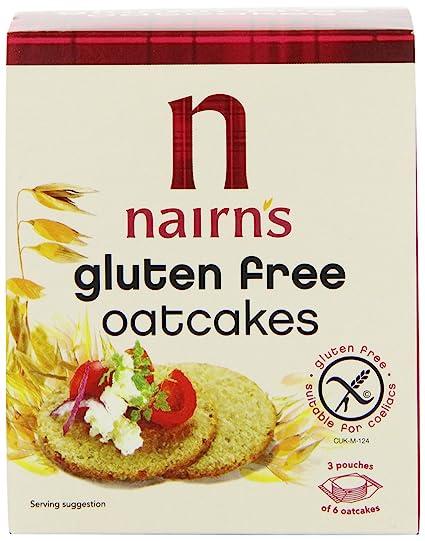 Nairn s - Torta de Avena, sin gluten 160 g Pack de 6 por ...