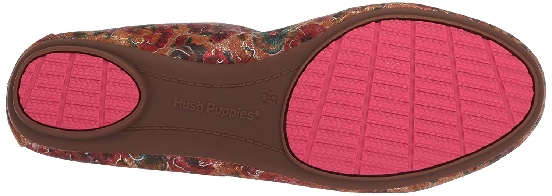 Hush Flat Puppies Women's Chaste Ballet Flat Hush B0746X3H7M 6 3E|Floral Print 314064